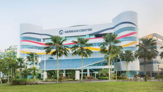 Exterior view of the German Centre Singapore