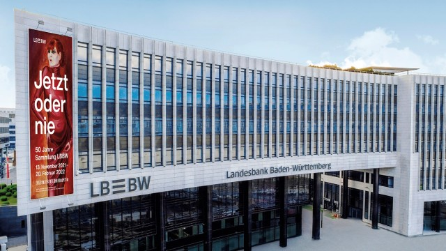 LBBW's main building in Stuttgart