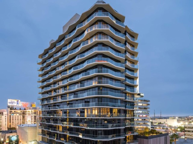 Commercial real estate financing with LBBW: Argyle House residential tower in Los Angeles