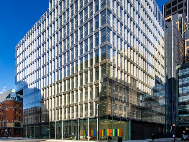 Commercial real estate financing with LBBW: One Bartholomew, London