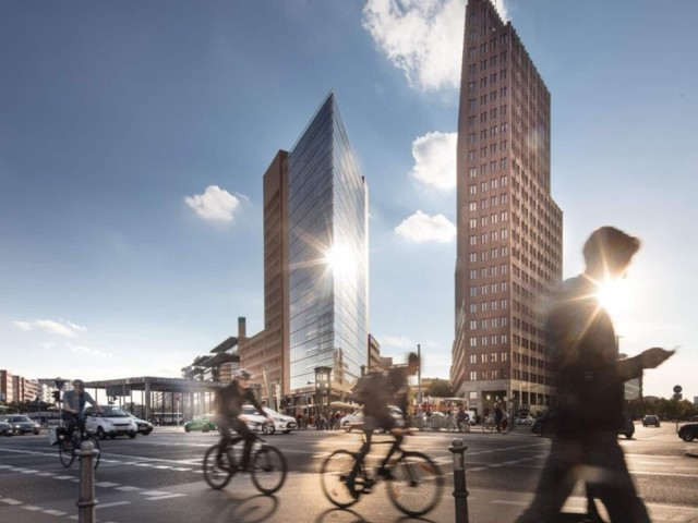 Commercial real estate financing with LBBW: Potsdamer Platz in Berlin